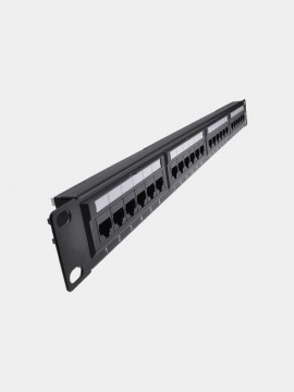 Cat6 UTP 24-Port Patch Panel
