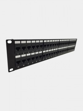 Cat6 UTP 48-Port Patch Panel