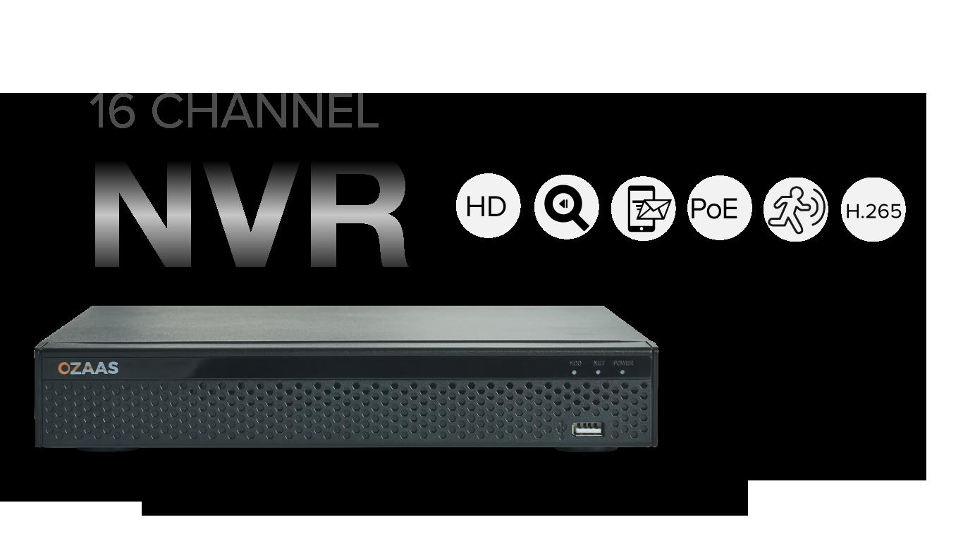 16ch NVR Recorder